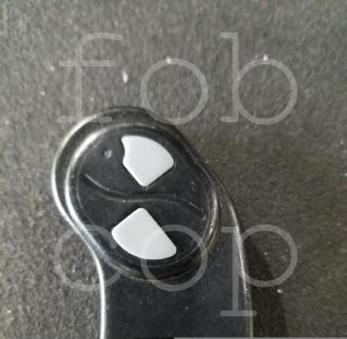 Two grey buttons remote